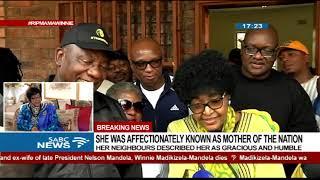 Winnie Madikizela-Mandela last interview