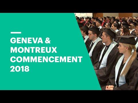 EU Business School Geneva & Montreux Graduation Ceremony 2018