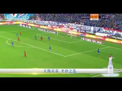 Oscar Romero goal 28' Shanghai Shenhua [1]-0 Changchun Yatai