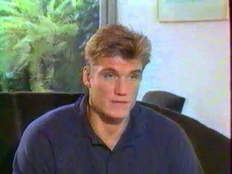 """Interview de Dolph Lundgren sur """"Envoyé spécial"""" dans """"Giga"""" (1991)"""
