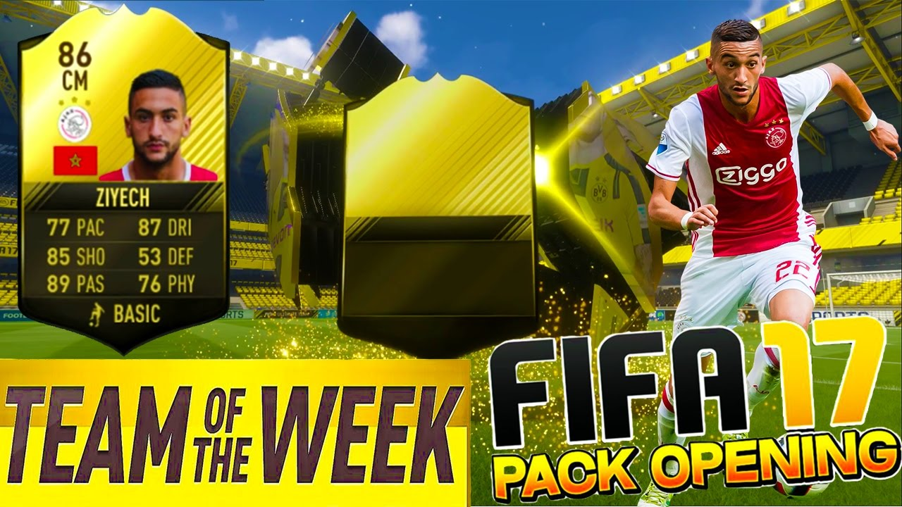 FIFA 17 PACK OPENING- Cel Mai Bun Jucator De la Cea Mai Buna Academie De Fotbal Din Lume