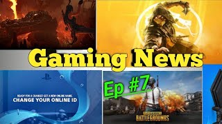 Gaming News #7 Mortal kombat 11,pubg mobile,ps4 new update
