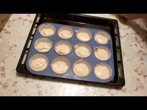 Кекс классический рецепт в силиконовых формах  How to Make  Cupcakes (Recipe)