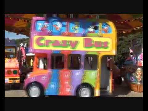 Christchurch Fun Fair In Dorset.