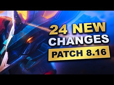 All 24 New Changes in Patch 8.16 (League of Legends) thumbnail