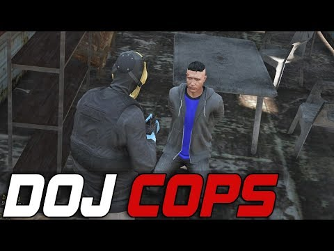 Dept. of Justice Cops #256 - Stab City Abductions (Criminal)