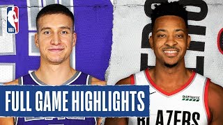 KINGS at BLAZERS | FULL GAME HIGHLIGHTS | March 7, 2020