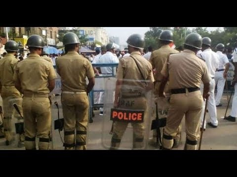 Haryana Police Vs College Boy Rohtak Chotu Ram Chok