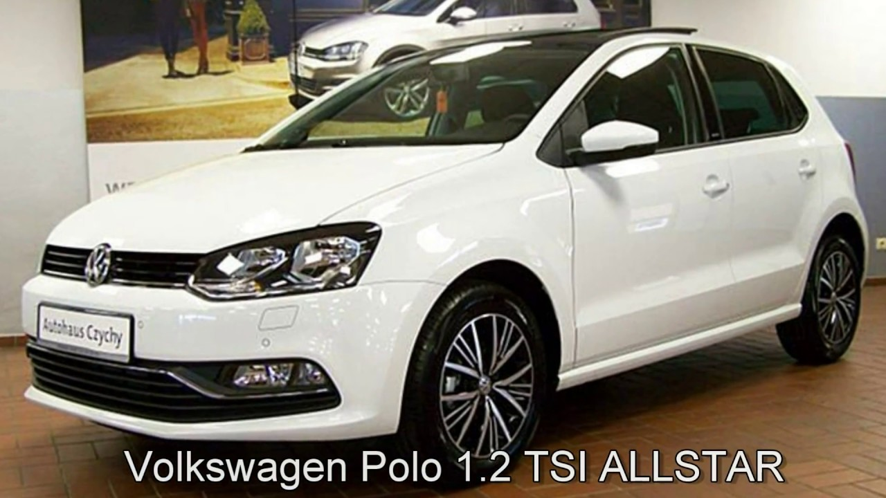 volkswagen polo 1 2 tsi allstar hy067344 pure white autohaus czychy youtube. Black Bedroom Furniture Sets. Home Design Ideas