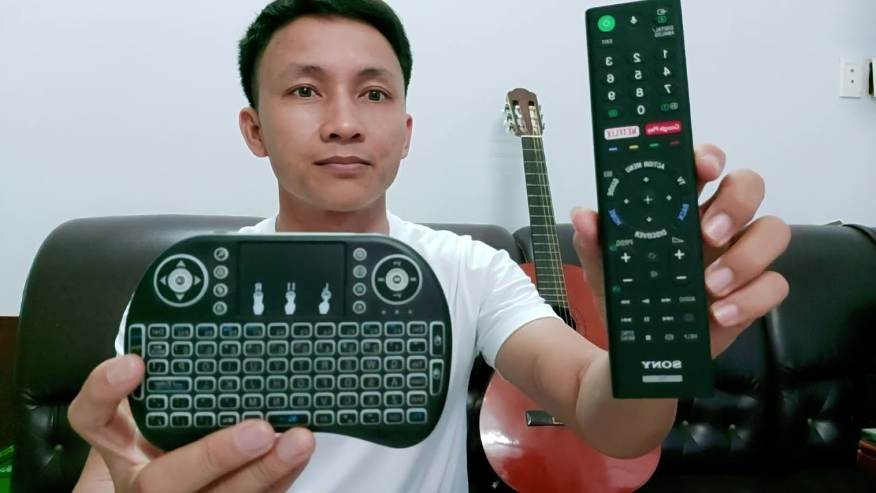 bàn phím cho tivi thông minh thay thế cho remote. bàn phím cho smart tivi