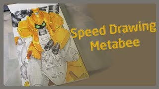 Speed Drawing: Metabee | (Medabots) / Dibujando a Metabee