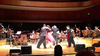 """""""El Andariego"""", tema interpretado por la Orquesta de Tango del Cole..."""