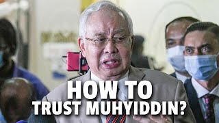 Najib: If we wanted our cases dropped we'd suck up, not fight Muhyiddin