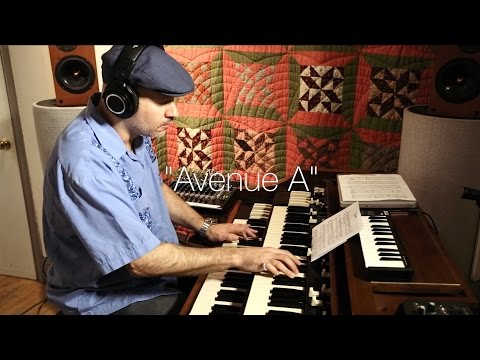 "Brian Charette ""Avenue A"" from Alphabet City on Posi-Tone Records"