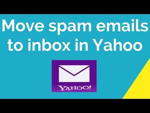 How To Move Spam Emails To Inbox In Yahoo Mail?
