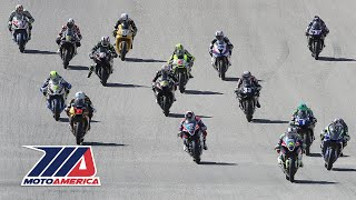 MotoAmerica EBC Brakes Superbike Race 1 at COTA