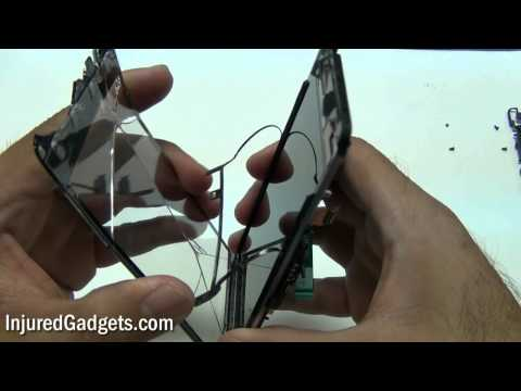 HTC Vivid 4G (AT&T) Touch Screen Glass Digitizer & LCD Display Repair Replacement Guide
