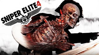 Right in the Face! - Sniper Elite 4 Gameplay - Sniper Elite 4 Highlights