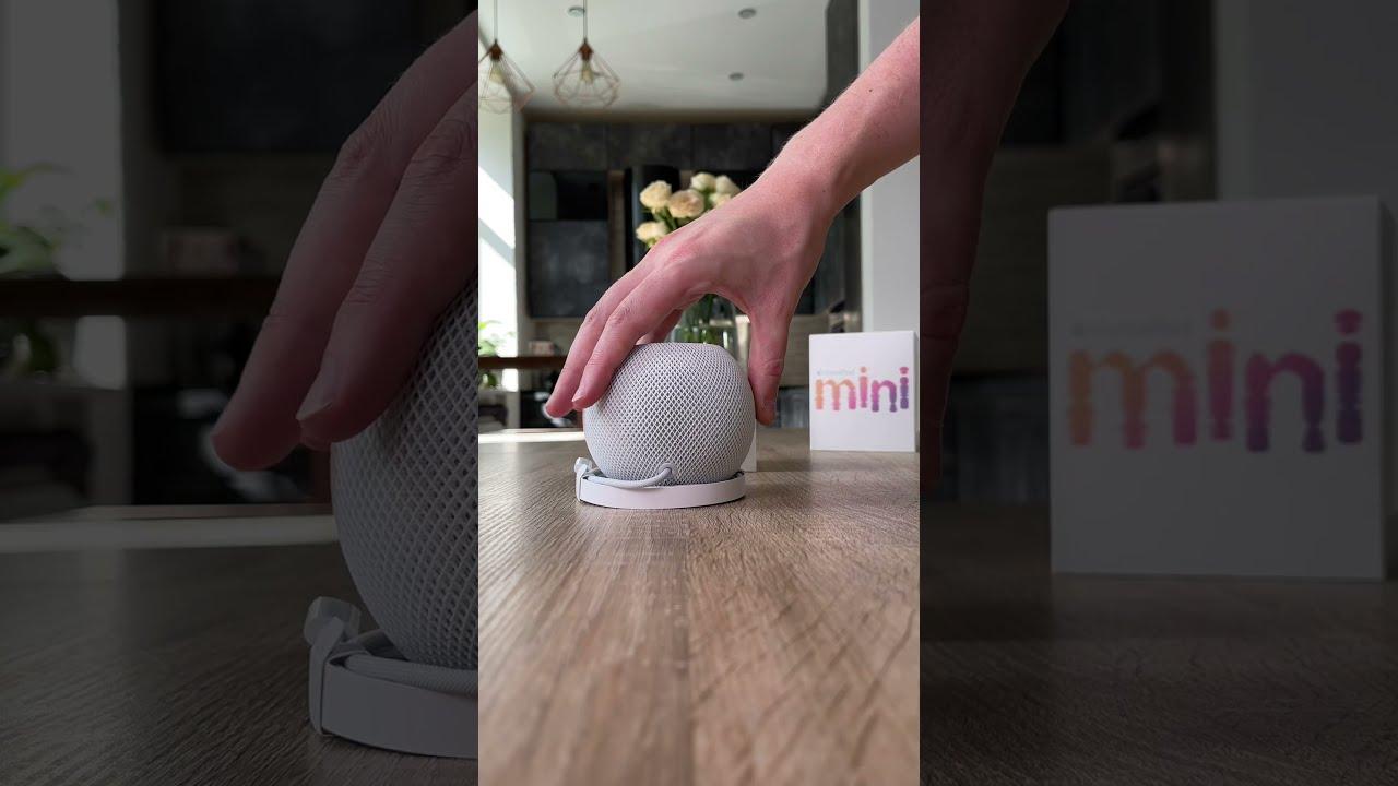 Распаковка Home Pod mini