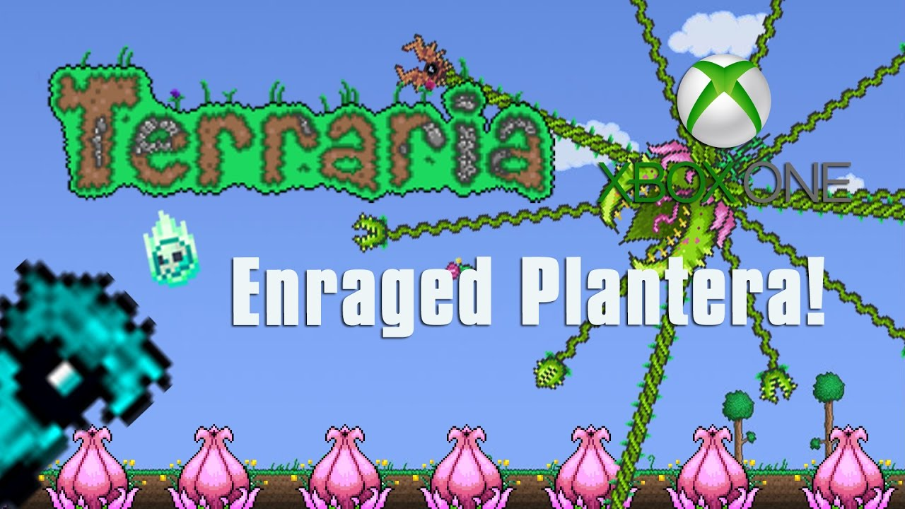 Terraria Xbox One Let S Play Enraged Plantera 99 Youtube