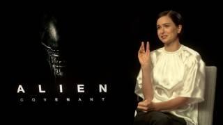 ALIEN: COVENANT Katherine Waterston Interview