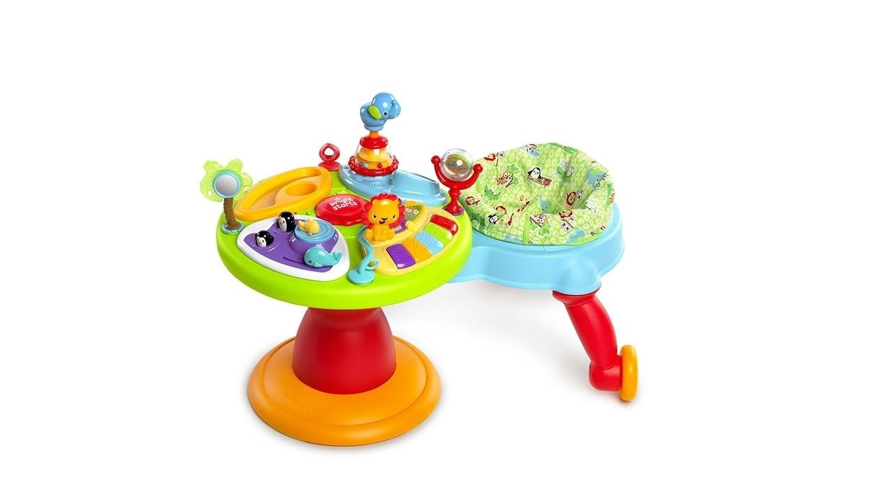 a6bbaa5a5 Bright Starts Around We Go 3-in-1 Activity Center Zippity Zoo Review ...