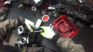 Ремонт турбины Volkswagen Toureg, мотор  V10 TDI BiTurbo - правая часть(, 2015-12-03T17:29:10.000Z)