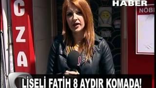 FATİH KARACA,DİŞÇİYE GİDEN GENÇ 8 AYDIR KOMADA Flash tv Flash haber SEÇİL GÖNENDEN