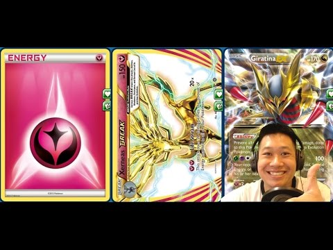 Steam Siege XERNEAS BREAK Giratina Deck, An Overwhelming Flood of Energies