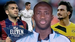 Manchester City: Yaya Toure Picks His Best XI | Hummels, Alves, Ronaldo & More!