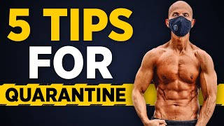 5 TIPS To Stay Healthy During Quarantine   Frank Medrano