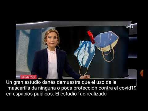 Las mascarillas no protegen! /Televisión sueca muestra estudio que lo demuestra. 19/11/2020