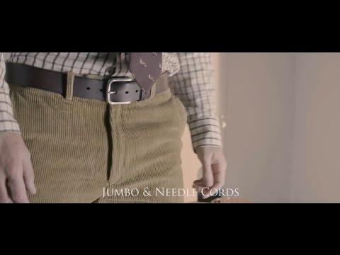 Jumbo Cord Trousers from Samuel Windsor