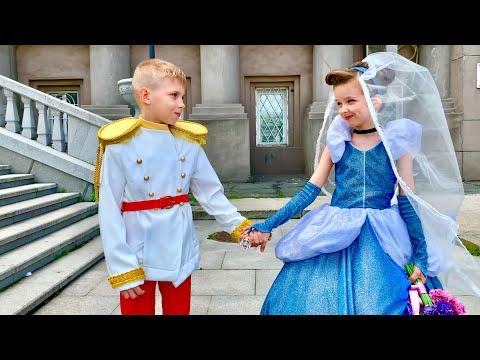 Платье для Золушки!  ПРИНЦЕССА НЕВЕСТА выбирает Свадебное платье