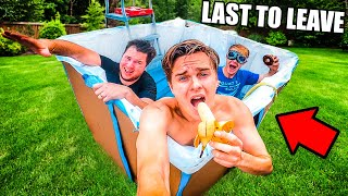 Last To Leave DIY Hot Tub Wins Challenge