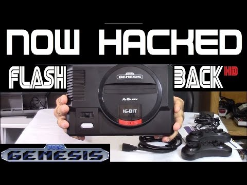 Add games to the SEGA Genesis Flasback HD from AT games