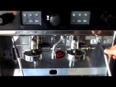Brasilia Gradisca 2 Group Espresso Machine Test Use