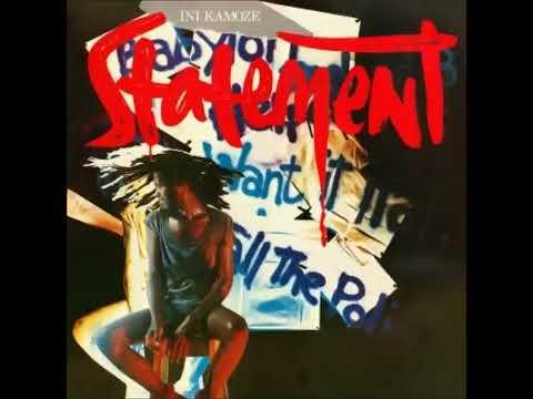 Ini Kamoze - Statement (1984) - I Want It Ital