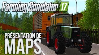 Farming Simulator 17 | Découverte de map LossBerg Pc XBOX ONE ET PS4 !