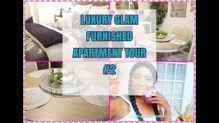 ❤😁 NEW ❤😁GLAM FURNISHED || APARTMENT TOUR || JUST A REFRESH
