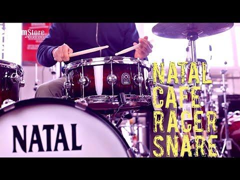 Natal Cafe Racer Snare 14x6,5 - drumstore test