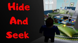 Let ' s Play Hide e Seek-Roblox