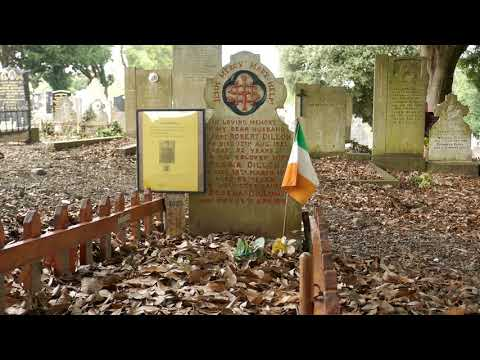 Glasnevin Cemetery Dublin Windy Day