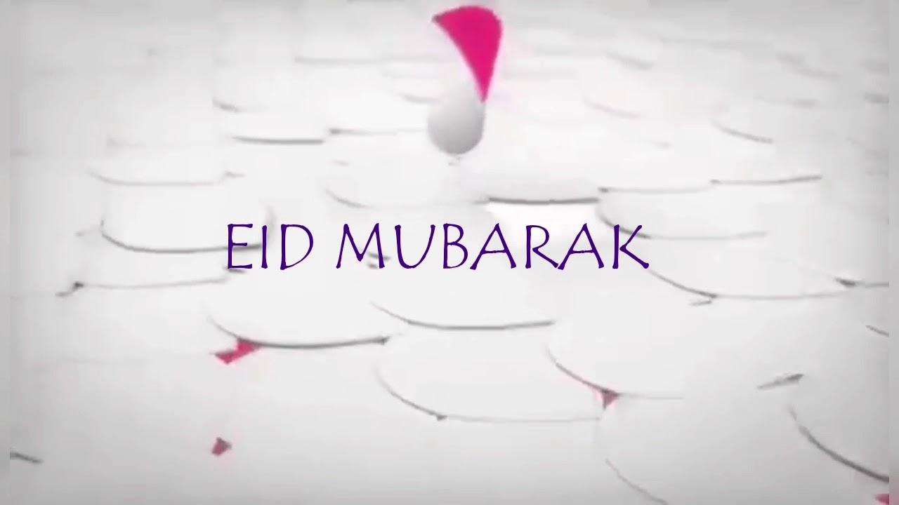 Eid Mubarak Greetings 2018 No Copyright Youtube