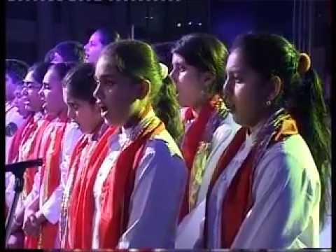 Jatin Sadhu- Lakshya Na Ozal- A Patriotic Song D.A.V International School Ahmedabad.