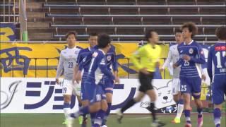 2017年4月9日(日)に行われた明治安田生命J2リーグ 第7節 山形vs大分...