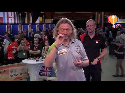 WDF Europe Cup Darts 2016 - Belgium-Lithuania (Men's Teams)