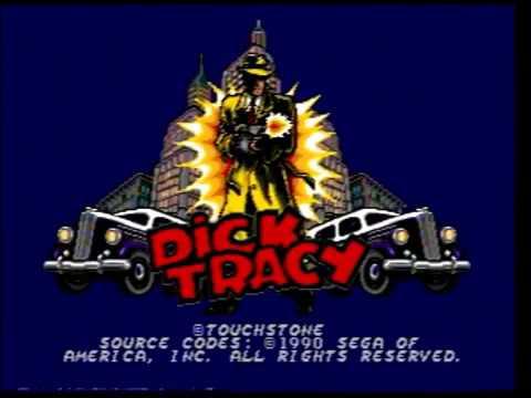 Dick Tracy (SEGA Genesis / Mega Drive) Antonio's Video Games
