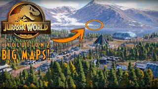 Will there be BIG MAPS in Jurassic World: Evolution 2? - Speculation & Theory