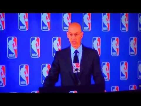 NBA Commissioner Adam Silver bans Donald Sterling